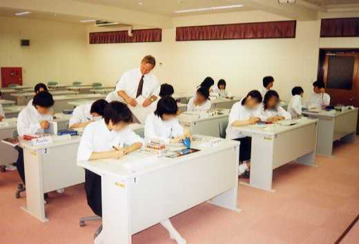 the picture of lesson in l.l.room